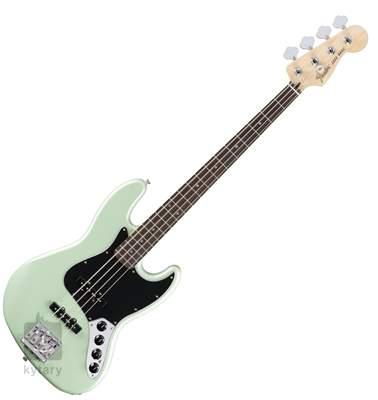 FENDER Deluxe Active Jazz Bass PF SP Elektrická baskytara