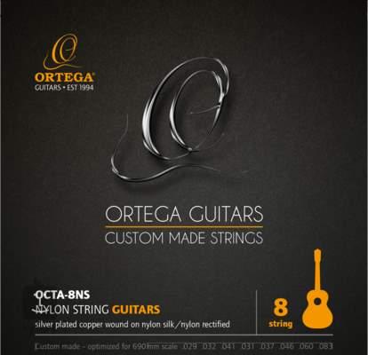 ORTEGA OCTA-8NS Struny pro osmistrunnou klasickou kytaru