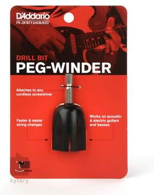 D'ADDARIO PLANET WAVES Drill Bit Peg Winder Nástavec na šroubovák