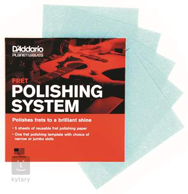 D'ADDARIO PLANET WAVES Fret Polishing System Kytarová kosmetika