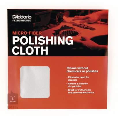 D'ADDARIO PLANET WAVES Micro-Fiber Polish Cloth Kytarová kosmetika