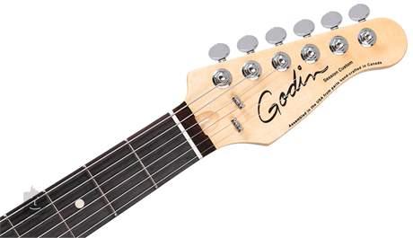 GODIN Session Custom 59T Coral Blue RN Elektrická kytara