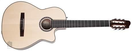 LA PATRIE Arena Mahogany CW QIT Klasická elektroakustická kytara