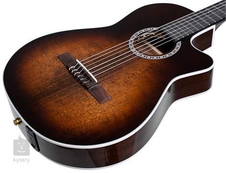 LA PATRIE Arena Pro CW Burnt Umber Crescent II Klasická elektroakustická kytara