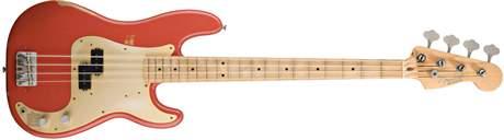 FENDER Road Worn 50s Precision Bass MN FR Elektrická baskytara