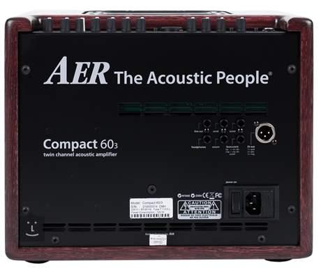 AER Compact 60 III OMH Oak Mahogany Stained Kombo pro akustické nástroje
