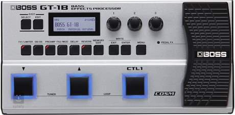 BOSS GT-1B Baskytarový multiefekt