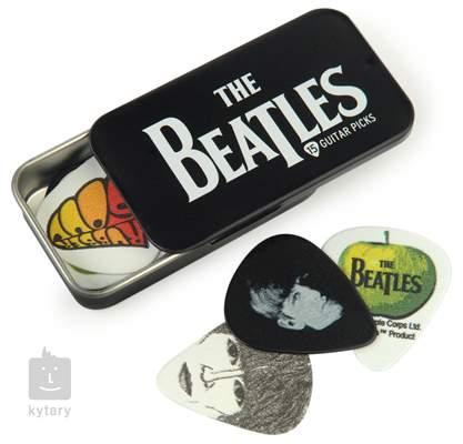 D'ADDARIO PLANET WAVES Beatles Picks Tin Box Logo Signature trsátka