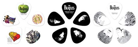 D'ADDARIO PLANET WAVES Beatles Picks Tin Box Stripes Signature trsátka