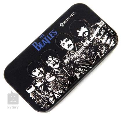 D'ADDARIO PLANET WAVES Beatles Picks Tin Box Sgt. Peppers Signature trsátka