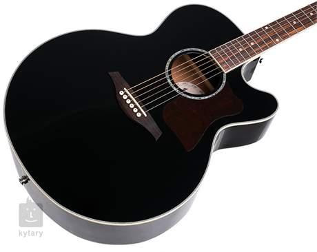 VINTAGE VECJ100BK Elektroakustická kytara