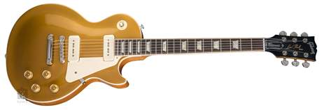 GIBSON Les Paul Classic 2018 Goldtop Elektrická kytara