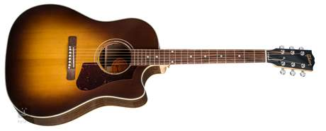 GIBSON J-45 Walnut Burst AG 2018 Elektroakustická kytara