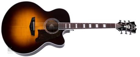 D'ANGELICO Premier Madison Vintage Sunburst Elektroakustická kytara