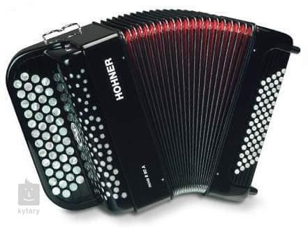 HOHNER Nova II 60 A, red, C-stepped Chromatický akordeon