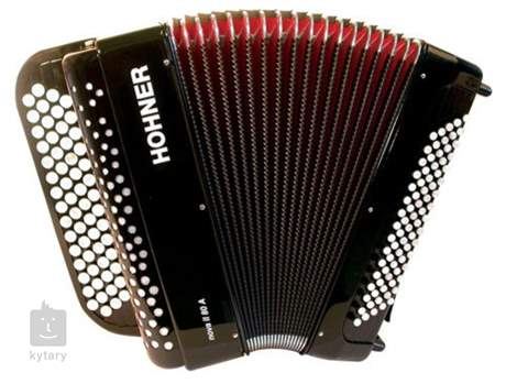 HOHNER Nova II 80 A, black, C-stepped Chromatický akordeon