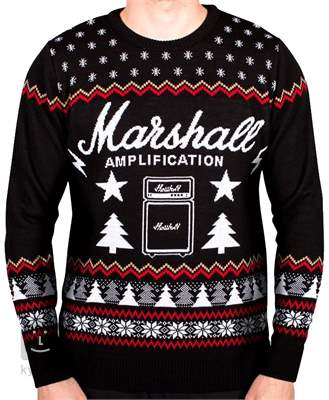 MARSHALL Christmas Jumper M Svetr