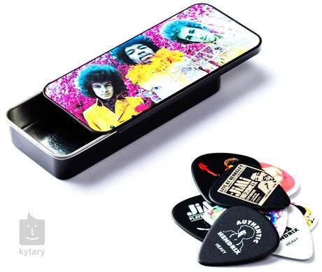 DUNLOP Jimi Hendrix Pick Tin Are You Experienced Signature trsátka