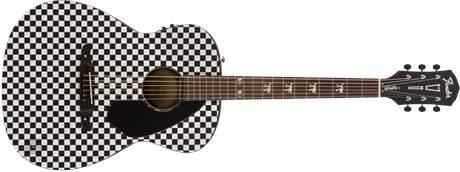 FENDER Tim Armstrong Hellcat Checker Elektroakustická kytara