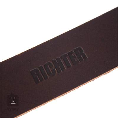 RICHTER Slim Deluxe Buffalo Brown Kytarový popruh