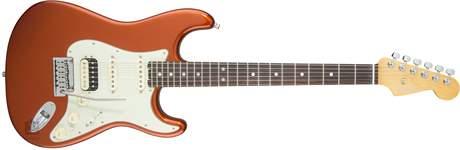 FENDER American Eite Stratocaster HSS Shawbuckers RW ABM Elektrická kytara