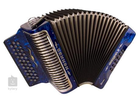 HOHNER Corona II XTREME GCF, dark blue Diatonický akordeon