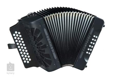 HOHNER Compadre EAD, black Diatonický akordeon