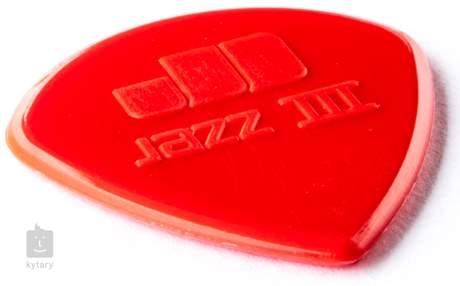 DUNLOP Jazz III Red Nylon Trsátka