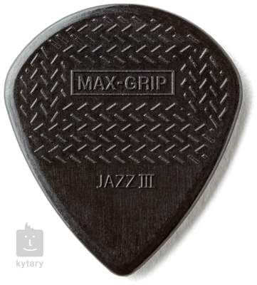 DUNLOP Max Grip Jazz III Black Stiffo Trsátka