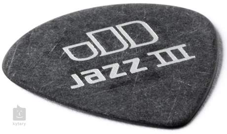 DUNLOP Tortex Pitch Black Jazz III 0.73 Trsátka