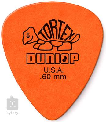DUNLOP Tortex Standard 0.6 Trsátka