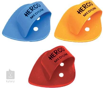 DUNLOP Herco Thumbpicks Heavy Palcové prstýnky