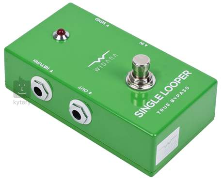 WIDARA Single Looper Green Signálový přepínač