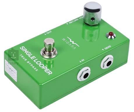 WIDARA Single Looper Return Volume Green Signálový přepínač