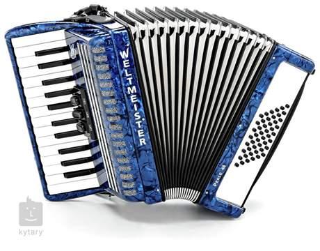 WELTMEISTER Perle II 48 blue Klávesový akordeon