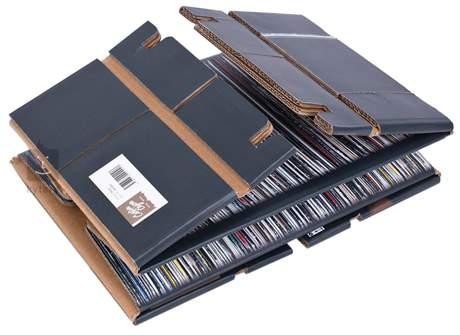CARTON CAJON Vinyl Cajon