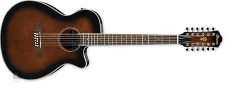 IBANEZ AEG1812II-DVS Dvanáctistrunná elektroakustická kytara