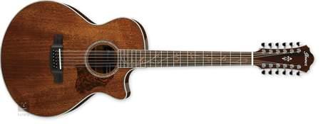 IBANEZ AE2412-NT Dvanáctistrunná elektroakustická kytara