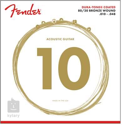FENDER 880XL Kovové struny pro akustickou kytaru