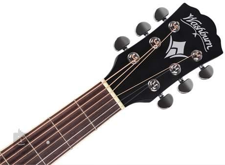 WASHBURN WD7SCEBM-W-U Elektroakustická kytara