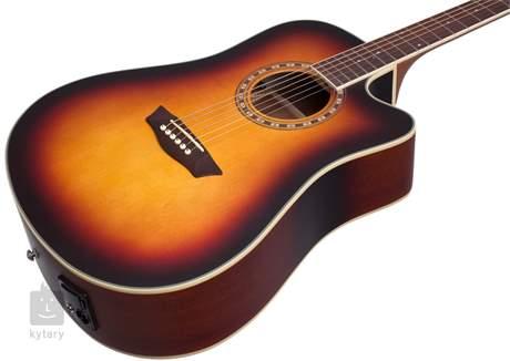 WASHBURN WD7SCEATBM-W-U Elektroakustická kytara