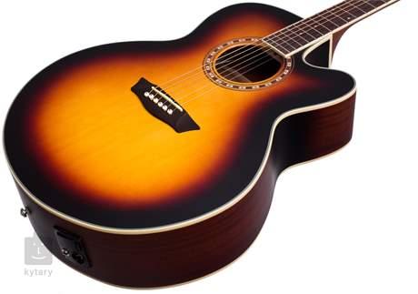 WASHBURN WJ7SCEATBM-W-U Elektroakustická kytara