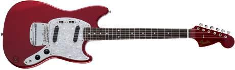 FENDER Traditional 70s Mustang MH RW CAR Elektrická kytara