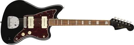 FENDER 60th Anniversary Jazzmaster PF BK Elektrická kytara