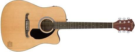 FENDER FA-125CE NAT Elektroakustická kytara