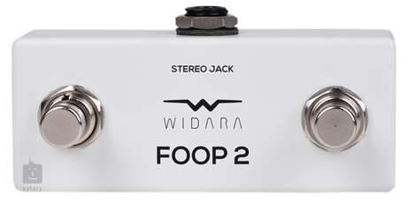 WIDARA FOOP 2 Mini White Nožní přepínač