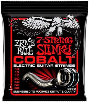 ERNIE BALL Cobalt 7-String Skinny Top Heavy Bottom Struny pro sedmistrunnou elektrickou kytaru