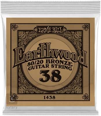 ERNIE BALL Earthwood 80/20 Bronze Single .038 Kovová struna pro akustickou kytaru