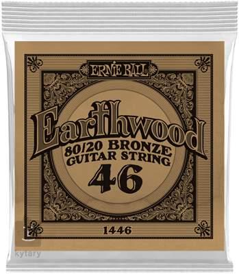 ERNIE BALL Earthwood 80/20 Bronze Single .046 Kovová struna pro akustickou kytaru
