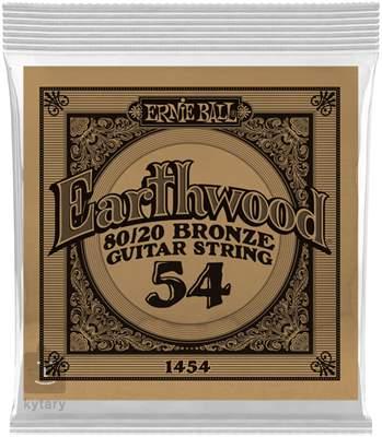 ERNIE BALL Earthwood 80/20 Bronze Single .054 Kovová struna pro akustickou kytaru